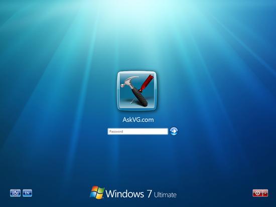Windows 7 Login