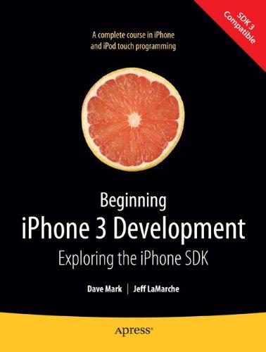 Beginning iPhone 3 Development Book Cover