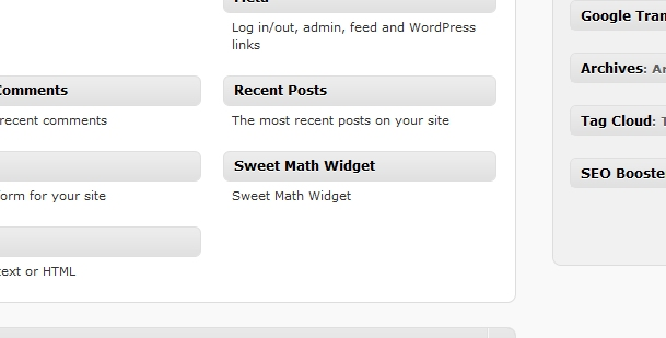 How to Create / Code A WordPress Widget
