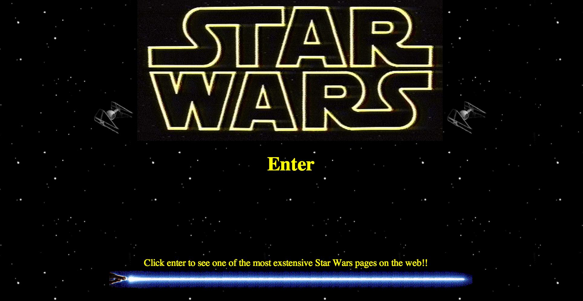 Star Wars Restoration: Entrance Complete